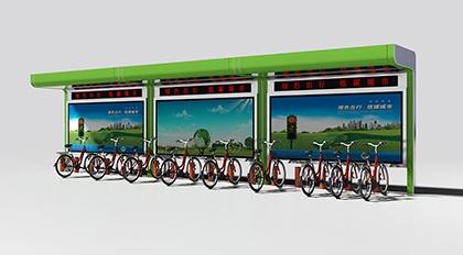 公共自行车亭ZXC-1004
